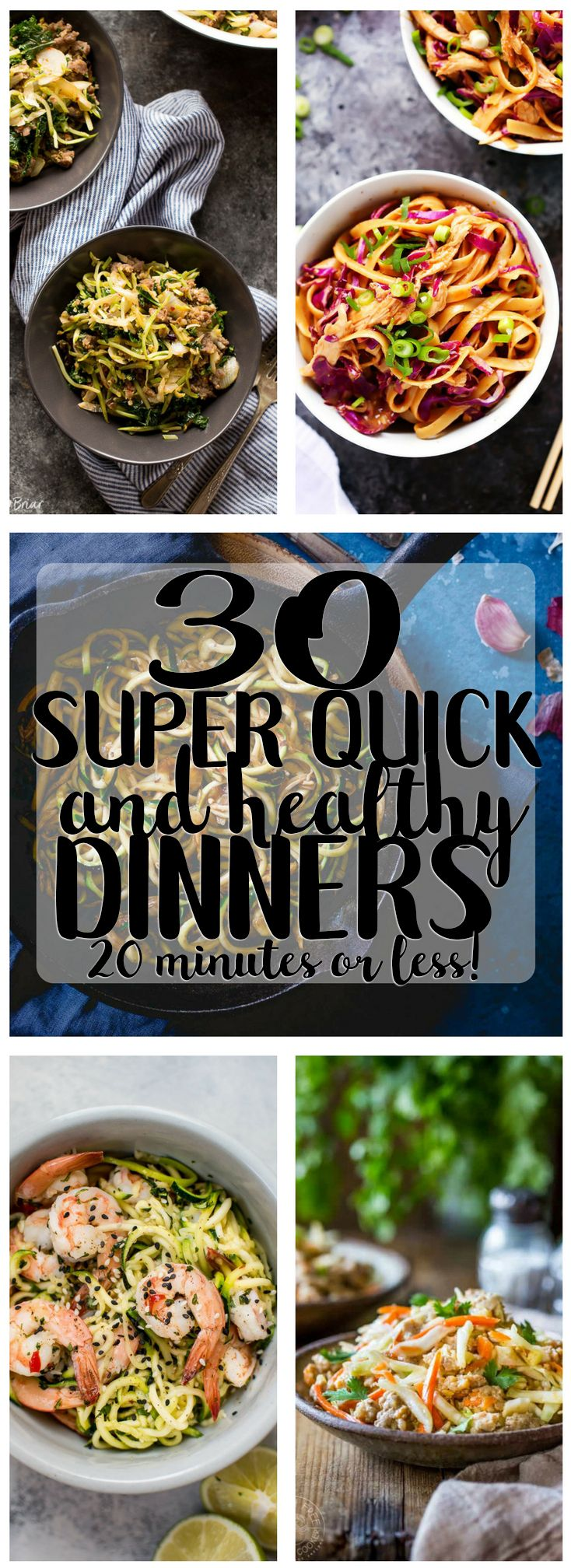 30 Quick and Healthy Dinner Recipes that take 20 m…Edit description
