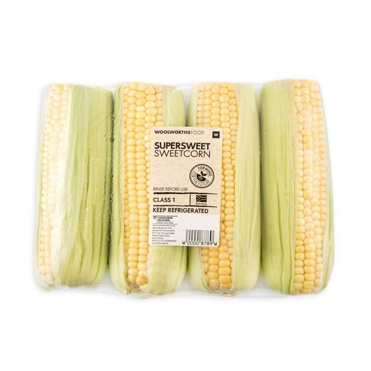 Supersweet Sweetcorn 4Pk
