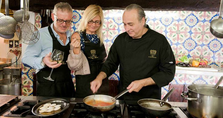 Cooking School with Chef Nino Mosca