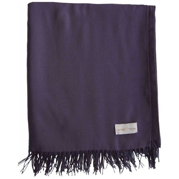 Winter Home Krya Throw Purple 150x200cm ($135) ❤ liked on Polyvore featuring home, bed & bath, bedding, blankets, purple, faux blanket, winter bedding, purple bed linen, purple bedding and faux bedding