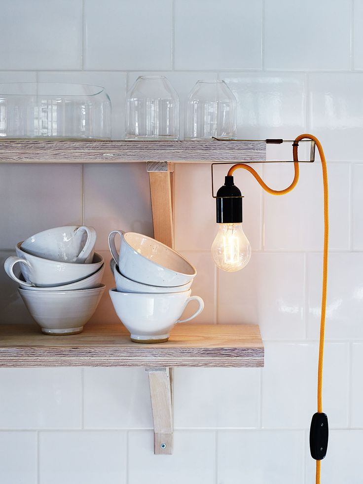 Clamp lamp by Andreas Martin-Löf. Photo Anna Kern.