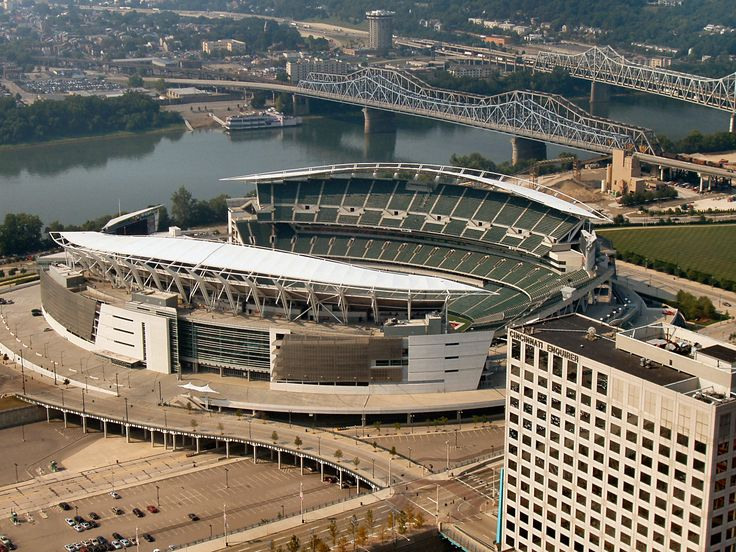 Paul Brown Stadium, Cincinnati Ohio