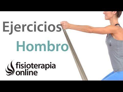 Ejercicios de estabilización para lesiones y rehabilitación de hombro. - YouTube