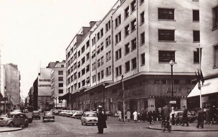Nantes la rue du calvaire aux dames de france dans les ann es 60 - Les annees 60 en france ...