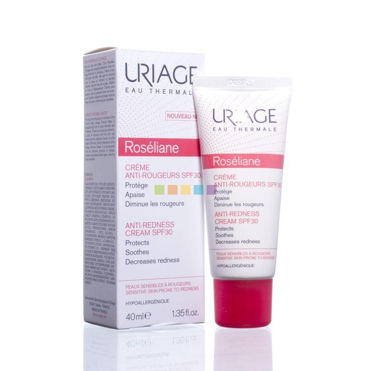 Uriage Roséliane Crème tegen Roodheid Factor 30: Beschermende en kalmerende verzorging voor de gevoelige en rode huid