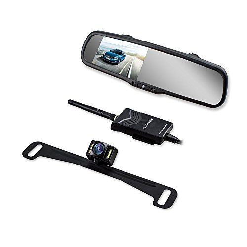 AUTO VOX Wireless Reverse Camera Kit Car Backup Camera with Rear View Mirror Monitor and IP 68 Waterproof Reversing Camera LED Super Night Vision Back Up Car Camera Kit Easy Installation - AUTO-VOX is a professional manufacturer of automobile accessory for over 10 years. We care about our customers. Any pre-sales and after-sales question, feel free to contact us. For more information:www.autovoxclub.com Installation This Wireless Rear View System throws away the traditional complic...