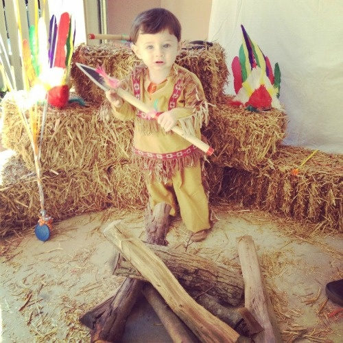 Jack's cowboys and indians 1st birthday party!