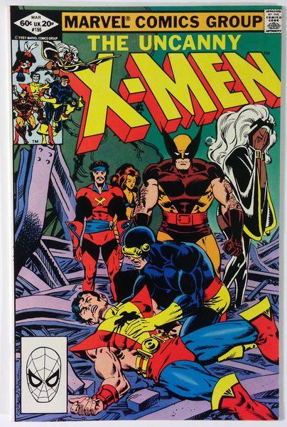 Marvel Comics – The Uncanny X-Men #155 – 1st App. of The Brood - Chris Claremont NM- 9.2