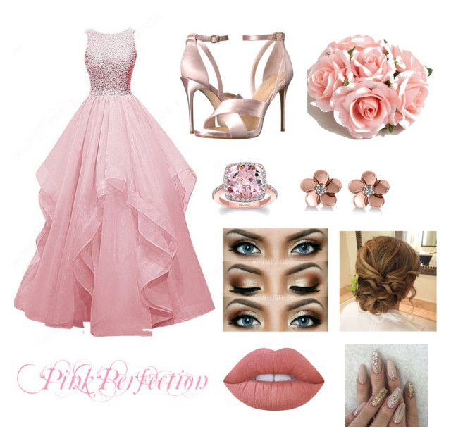 Prom Night💗✨ by erinkennedy1 on Polyvore featuring polyvore, fashion, style, Imagine by Vince Camuto, Allurez, ASOS, Lime Crime, SPECIAL DAY and clothing