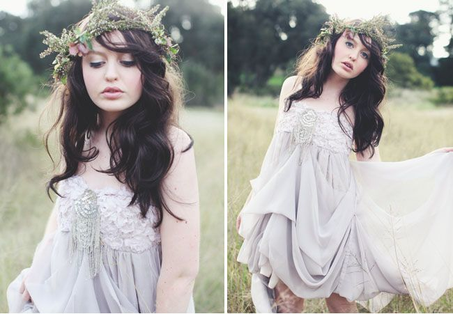 floral crown. photography by Luisa Brimble