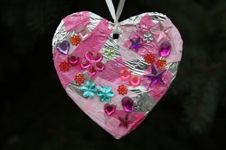 Tin-Foil Tissue Hearts
