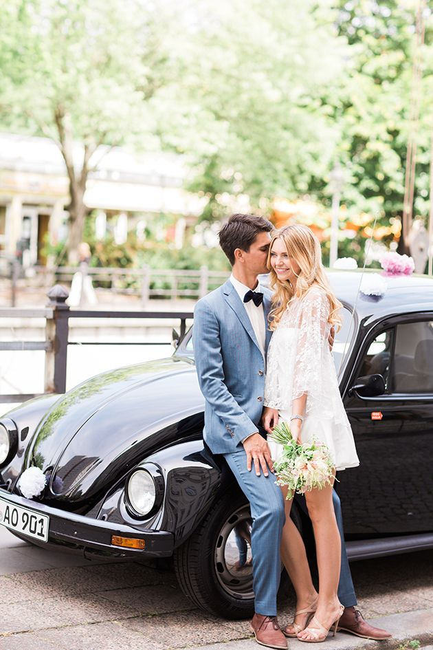 Chic Civil Ceremony | Ashley Ludaescher Photography | Bridal Musings