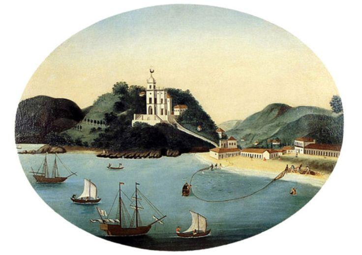 * Igreja da Glória * (c. 1790). (by Leandro Joaquim).
