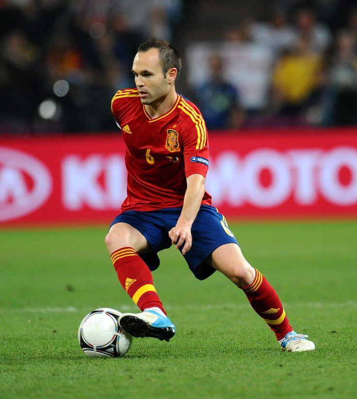 Andres Iniesta, Spain