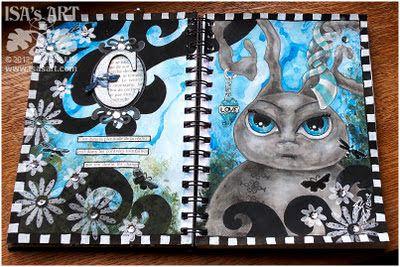 Chouchou Land: ART JOURNAL - Page C (terminée)