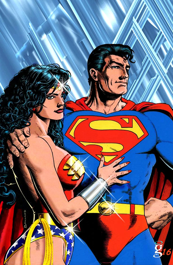 Wonder woman y superman-4906