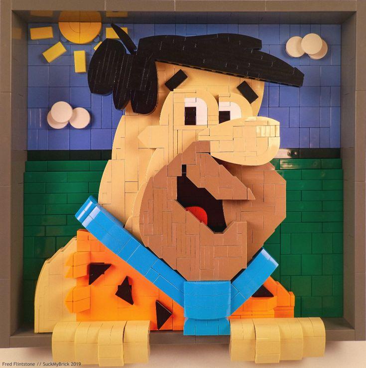 Amazing Lego Creations, Fred Flintstone