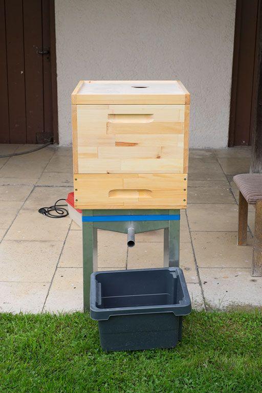 Wachs schmelzen   Landshuter Honig