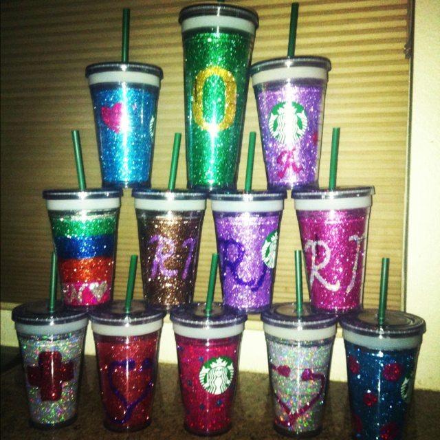 1000 ideas about glitter cups on pinterest mason jar