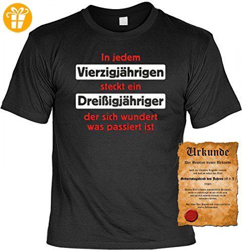 T Shirt Zum 40. Geburtstag   In Jedem Vierzigjährigen Steckt Ein.