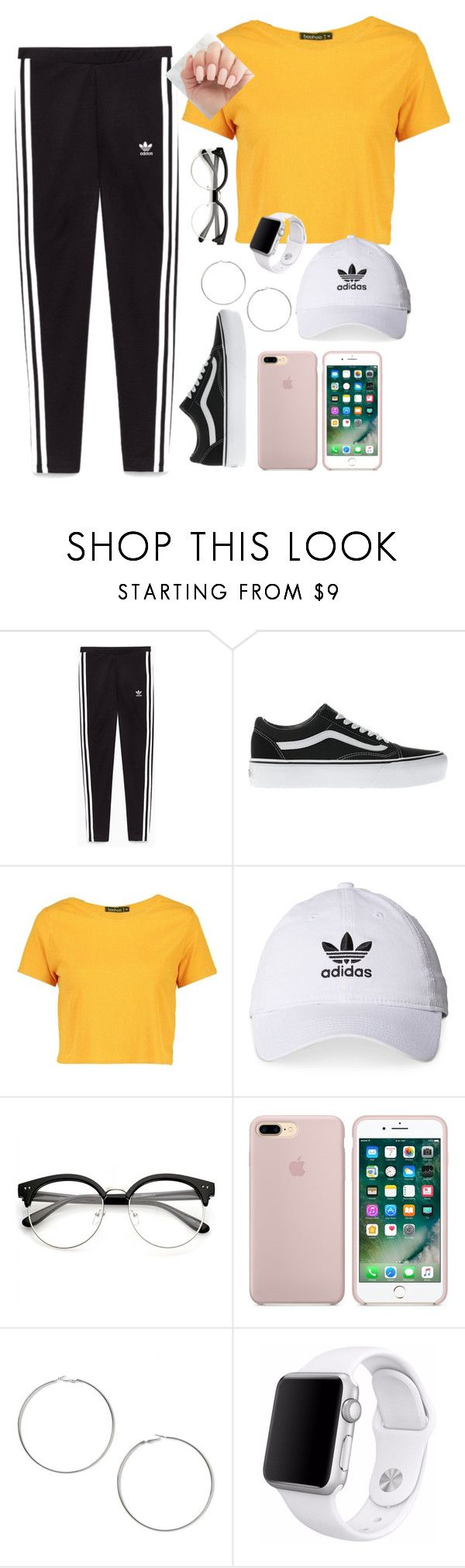 """""""Dance time"""" by magscerasuolo on Polyvore featuring Vans, Boohoo, adidas, Miss Selfridge y Apple"""