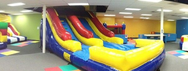 MP Bounce with Me indoor bounce house park