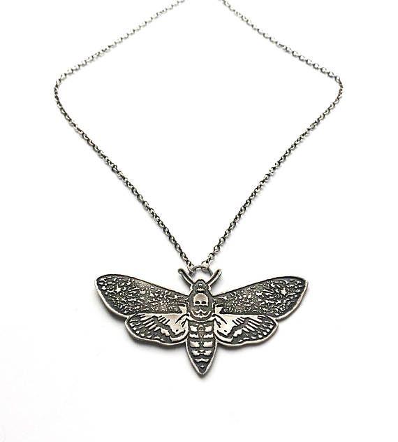 The Deaths Head Hawk Moth (Acherontia atropos) is known for the