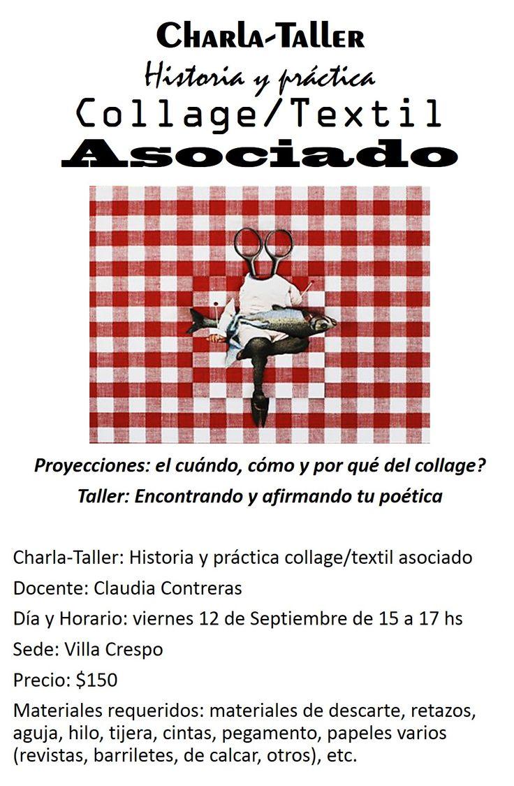 El Festival que se viene con todo!! Ahora te trae a Claudia Contreras!! https://www.facebook.com/festivalexperienciastextiles