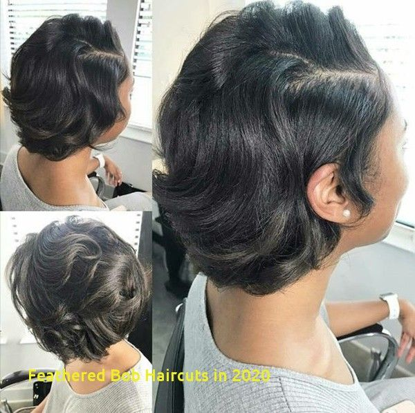 98 Amazing Feathered Bob Haircuts In 2020 Natural Hair Styles Natural Hair Silk Short Natural Hair Styles