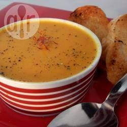 Carrot and Saffron Soup @ allrecipes.com.au