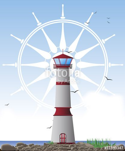 Vektor: leuchtturm