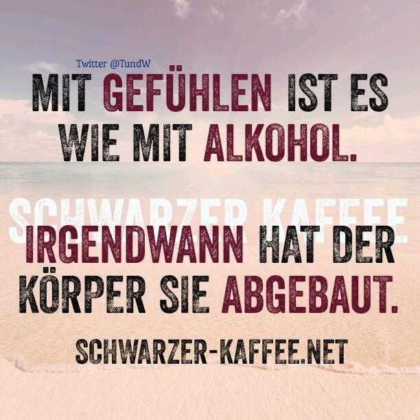 Gefühle und Alkohol