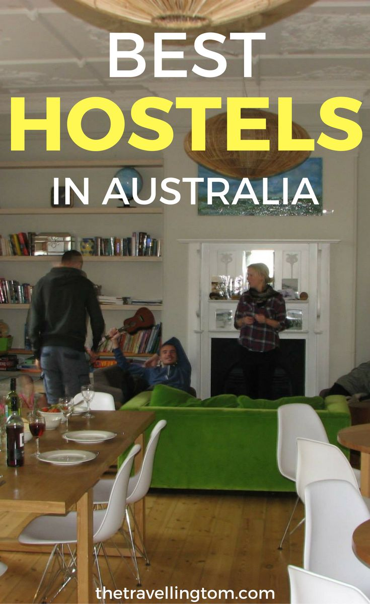 Ultimate list of the best hostels in Australia. Travelling Australia is great, but knowing where to stay in Australia can be tricky. Check out my list of the backpackers in places such as Brisbane, Melbourne and Sydney!