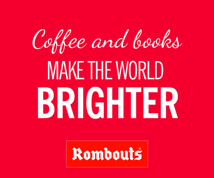 Coffee and books make the world brighter