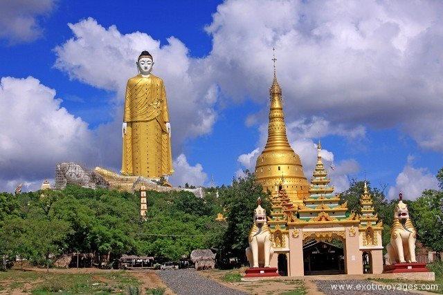 Monywa #Buddhas  http://www.exoticvoyages.com/myanmar-tours