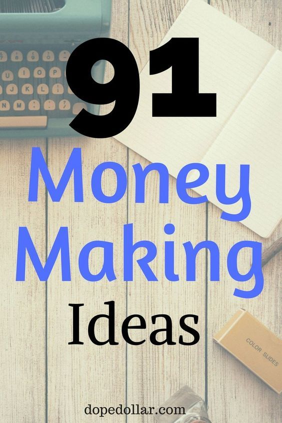 Need to make extra money? Check out these 91 money making ideas. These are great ways to make side income and extra money fast.