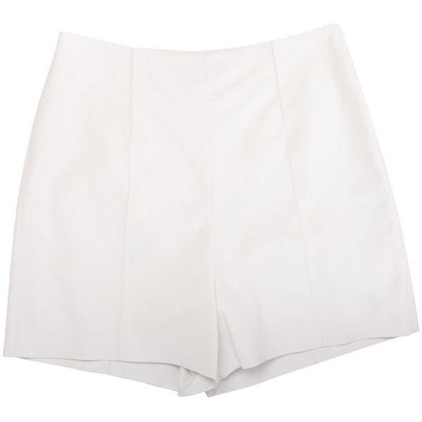 Diane von furstenberg shorts STONE ($130) found on Polyvore