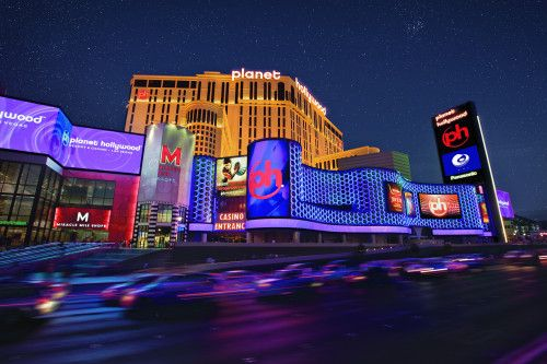 Planet Hollywood in Vegas... Lovely place to stay.