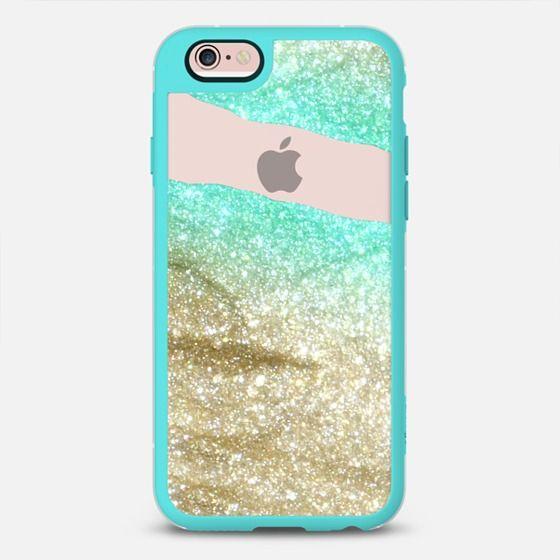 LIMITLESS AQUA & GOLD by Monika Strigel iPhone 6 plus iPhone 6 Plus case by Monika Strigel | Casetify