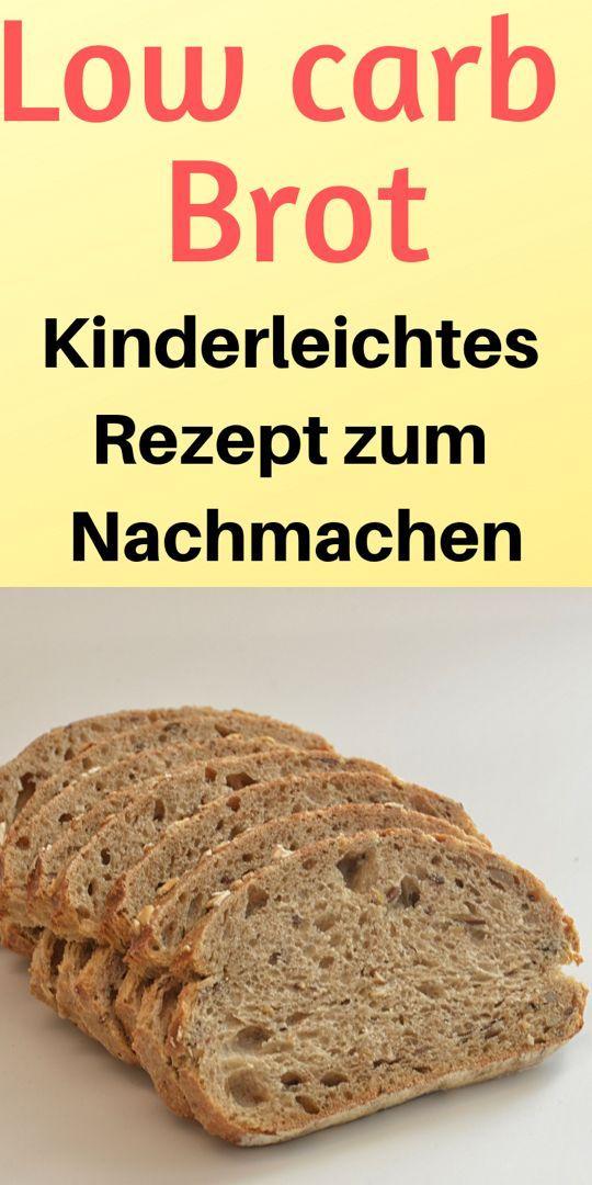 Low Carb Brot (Rezept) – Sehr einfach und schnell zuzubereiten