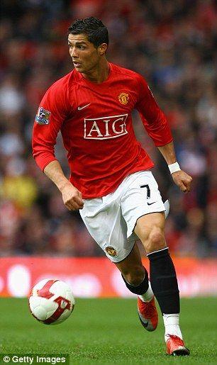Former Manchester United star Cristiano Ronaldo