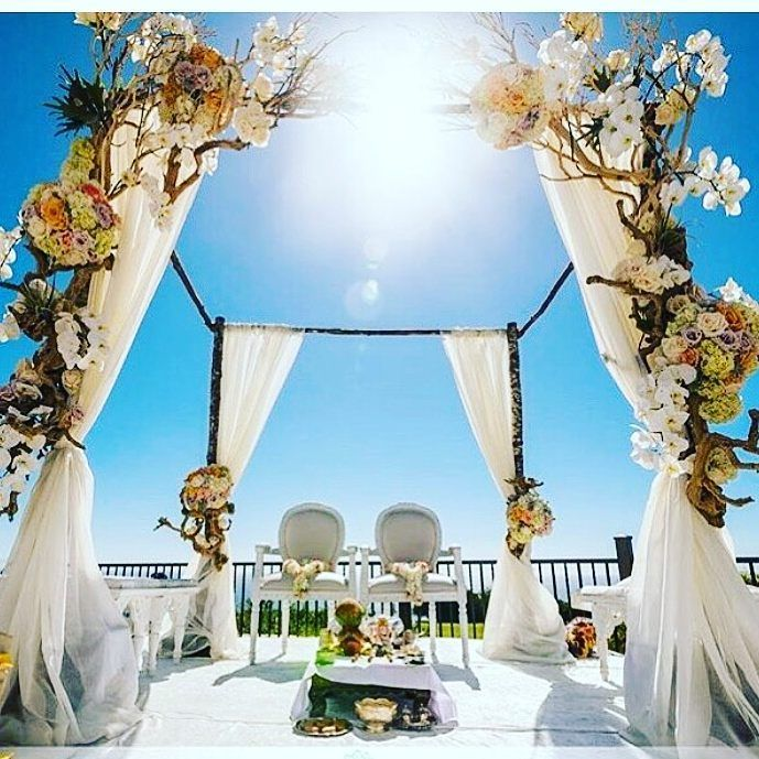 180 best vedi mandap decor images on pinterest wedding decor pretty mandaps for a beautiful summer wedding simple minimal awesome wedmegood junglespirit Images