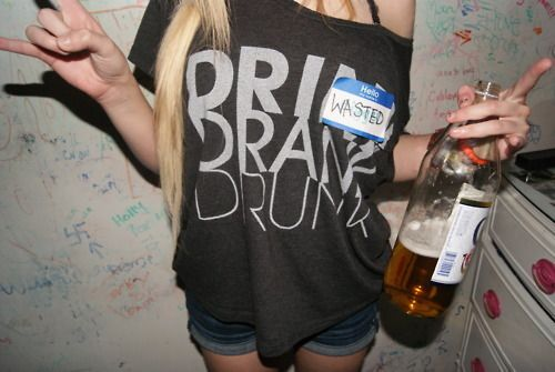 drink drank drunk: Drunk Girls, Buckets Lists, Style, Drinks Drank Drunk, Shirts, Clothing, White Girls, Parties Time, Halloween
