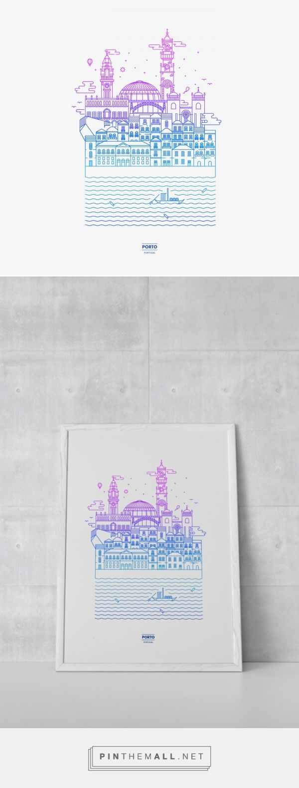 Oporto on Behance - created via http://pinthemall.net