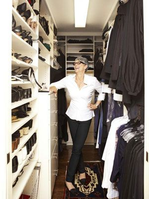 Jamie Lee Curtis Organizing Tips - Photos of Jamie Lee Curtis - Good Housekeeping