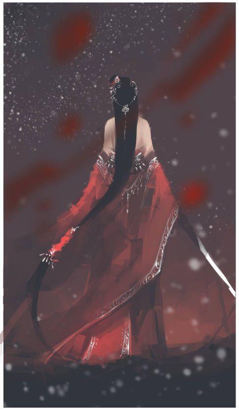 Geisha of Blood Kimono Bloodstone Tetrad COL concept