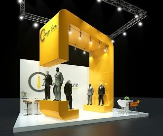 An awesome #exhibit for your next #tradeshow. see what we can build for you at TriadCreativeGroup.com