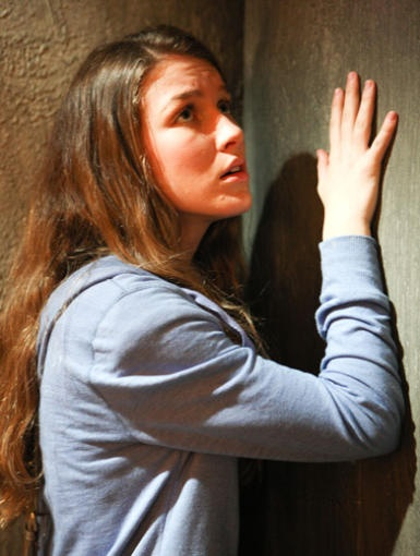 Knocking on the wall won't do the trick Nina. Now…where's that Eye of Horus?