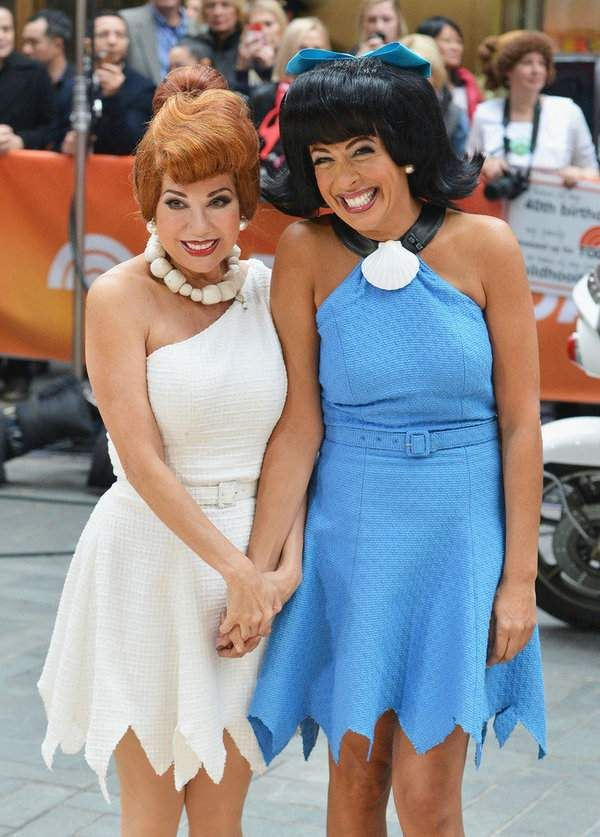 Kathie Lee Gifford and Hoda Kotb as Wilma & Betty
