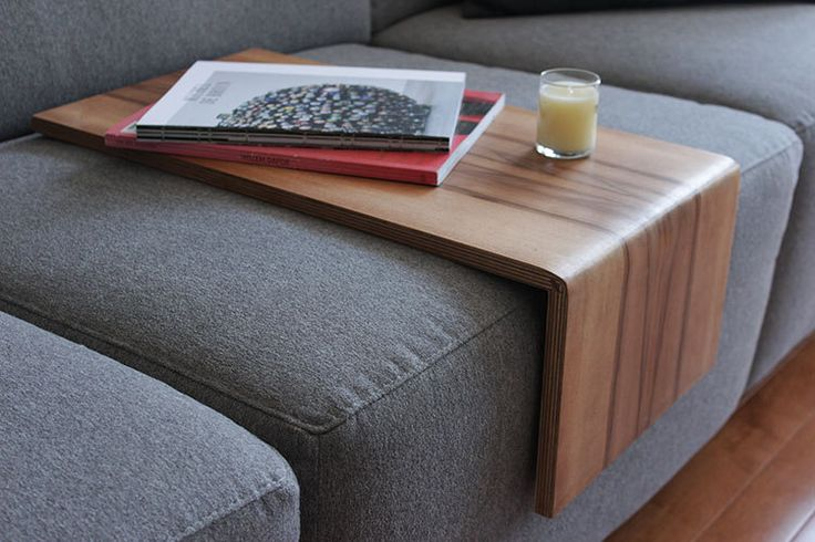 Couch cushion table,Sofa table, sofa shelf , couch shelf, couch table , sofa ipad, sofa tray, work surface , computer table, Sweetgum, by Singulierlampandcab on Etsy https://www.etsy.com/listing/235211561/couch-cushion-tablesofa-table-sofa-shelf